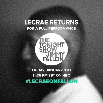 Lecrae on The Tonight Show