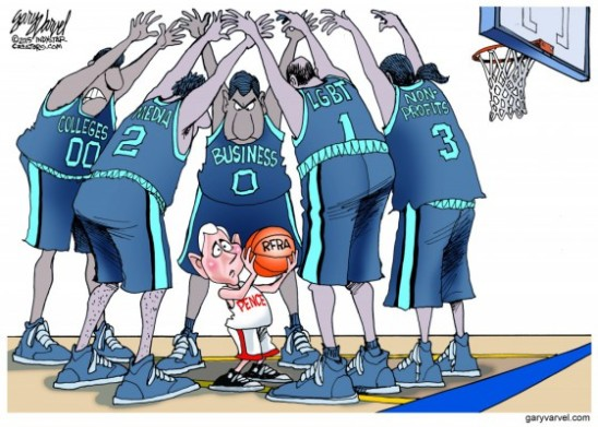 World Magazine Cartoon
