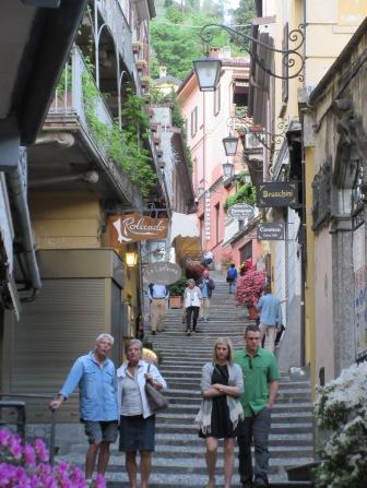 Narrow Alleys in Bellagio, Italy