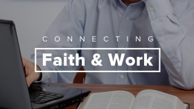 connecting faith and work