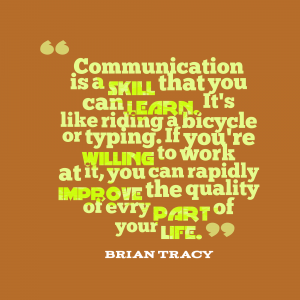 Brian Tracy quote on communication