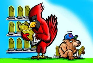 Cards Cubs Cartoon