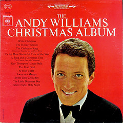 The Andy Williams Christmas Album This 1963 classic album has special memories for me as my Mom used to put this one on as we were going to bed when I was growing up.