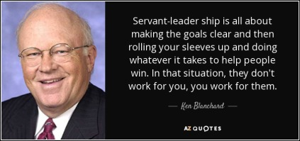 Ken Blanchard on servant leadership