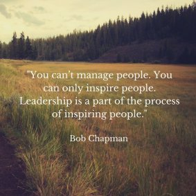 Bob Chapman Quote