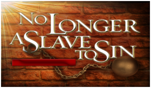 No-Longer-Slave to sin