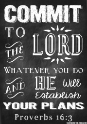Commit - Proverbs
