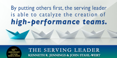 Second Serving Leader Quote