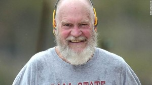 Ten months after retiring from his late night talk show, David Letterman is unrecognizable.