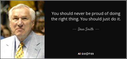 Dean Smith Quote