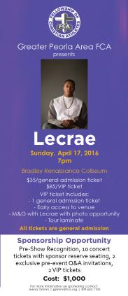 Lecrae FCA Concert