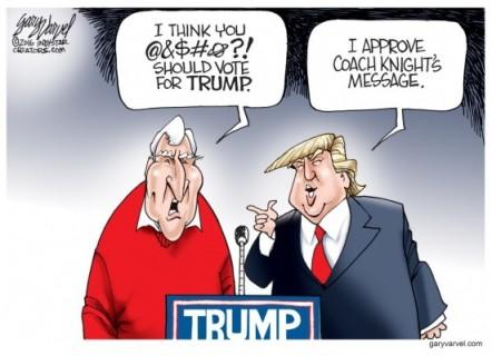 World Magazine Trump & Knight