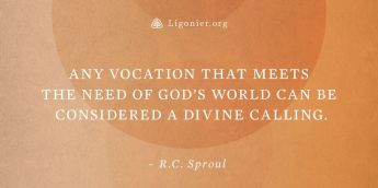 R.C. Quote on Vocation